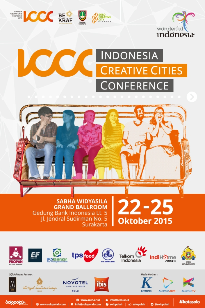 Indonesia Creative Cities Conference (ICCC) 2015