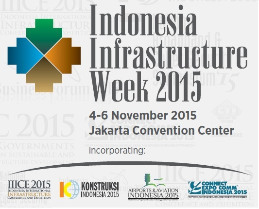 Indonesia Infrastructure Week 2015 (IIW'15)