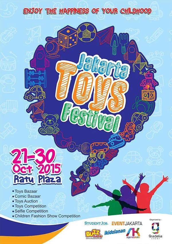 JAKARTA TOYS FESTIVAL 2015-Ratu Plaza