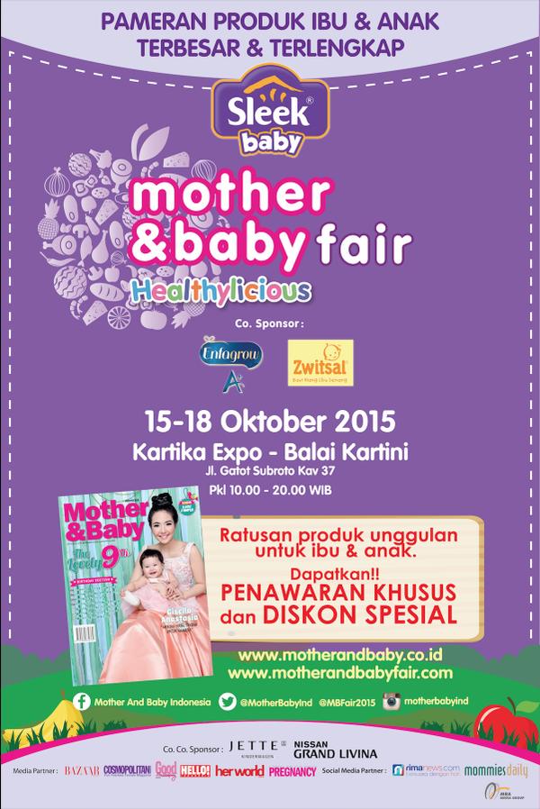MOTHER & BABY FAIR 2015 – Jakarta