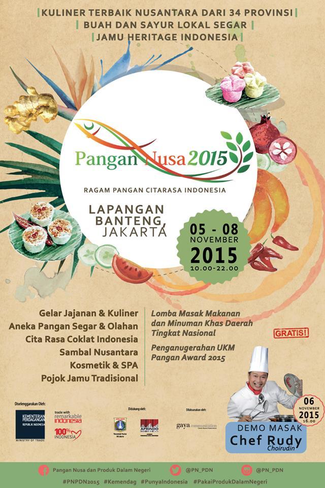 Pameran Pangan Nusa 2015 dan Produk dalam Negeri 2015
