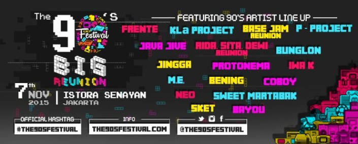 "The 90′s Festival ""BIG REUNION"""