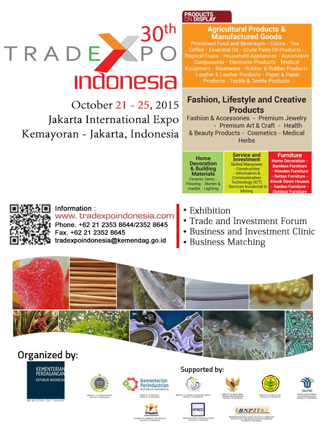TRADE EXPO INDONESIA 2015