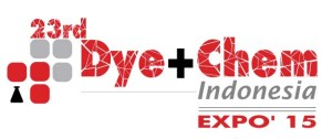 23rd Dye+Chem Indonesia 2015 International Expo