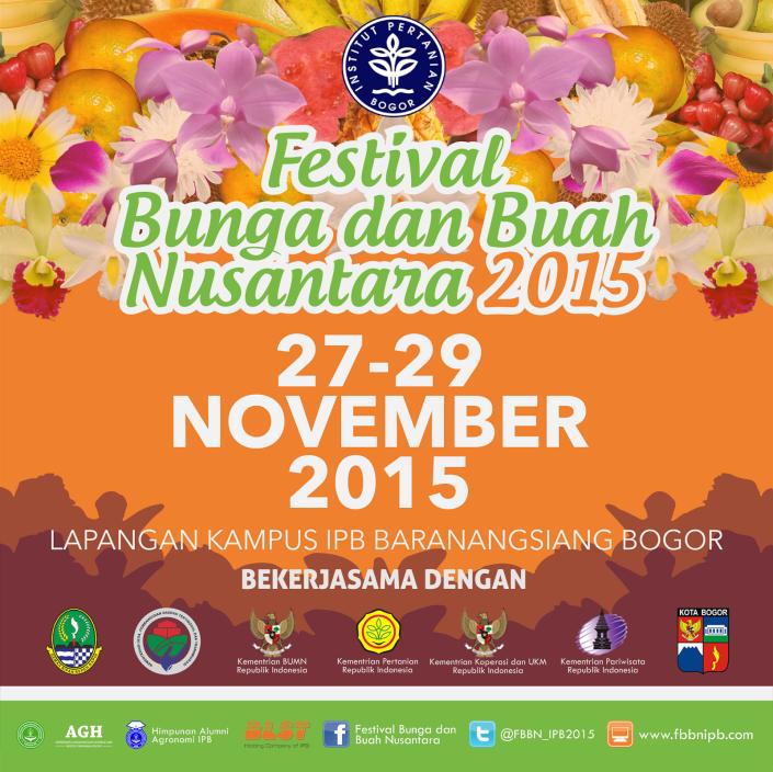 Festival Bunga dan Buah Nusantara 2015 Bogor
