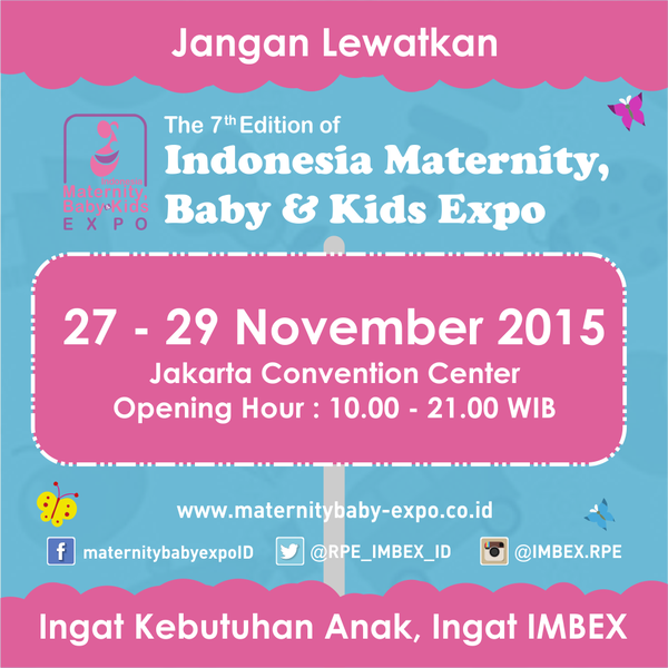 Indonesia Maternity, Baby, & Kids Expo 2015