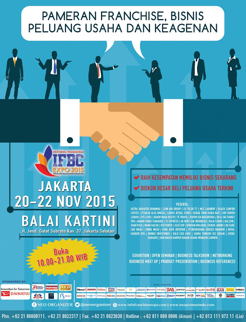 INFO FRANCHISE & BUSINESS CONCEPT EXPO 2015