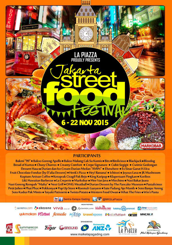 Jakarta Street Food Festival 2015