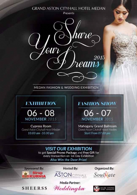 Medan Fashion & Wedding Exhibition 2015