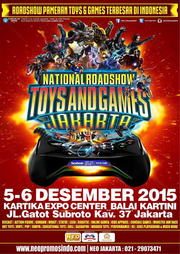 Toys & Games Expo Jakarta 2015
