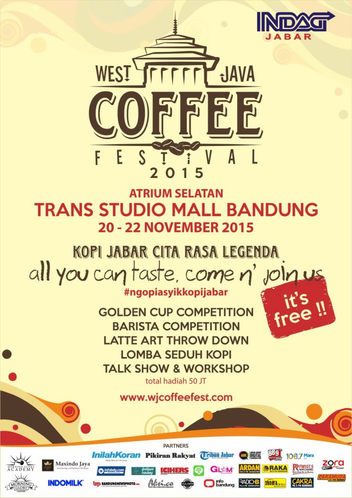 West Java Coffee Festival 2015