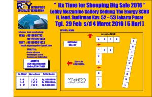 layout gedung the energy scbd