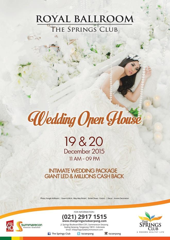 Wedding Open House – Tangerang 2015