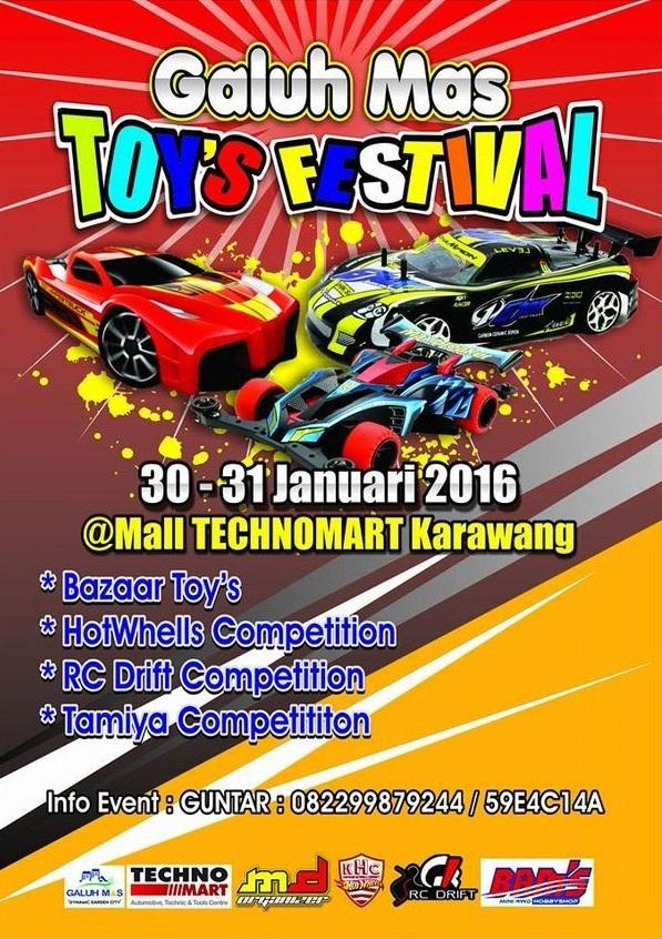 Galuh Mas Toy's Festival – Karawang 2016
