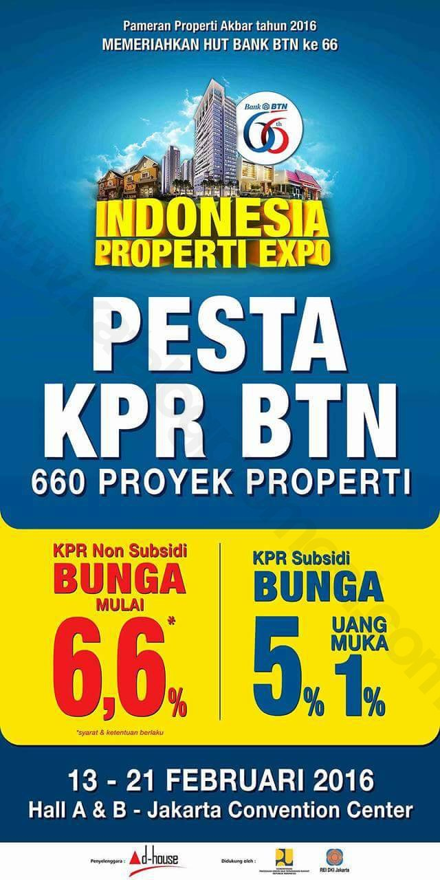 Indonesia Property Expo 2016 - KPR BTN 2016