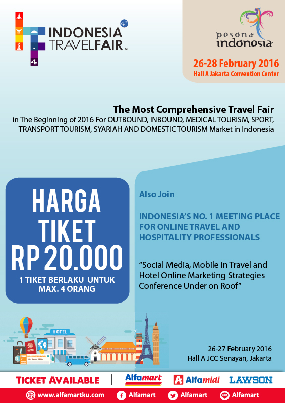 Indonesia Travel and Holiday Fair (ITHF) 2016