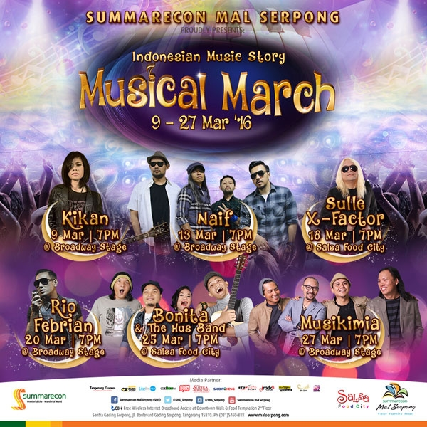 Indonesian Music Story 'Musical March' 2016 - Summarecon Mal Serpong