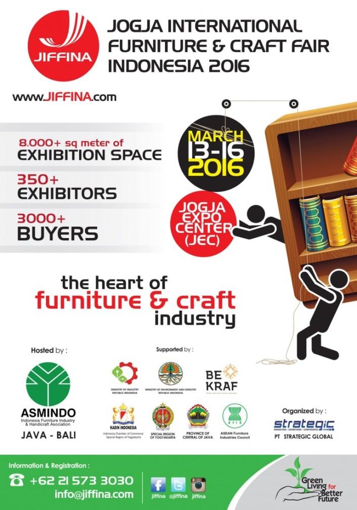 JIFFINA 2016 (Jogja International Furniture & Craft Fair Indonesia 2016)
