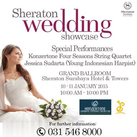Sheraton Wedding Showcase SUrabaya 2016