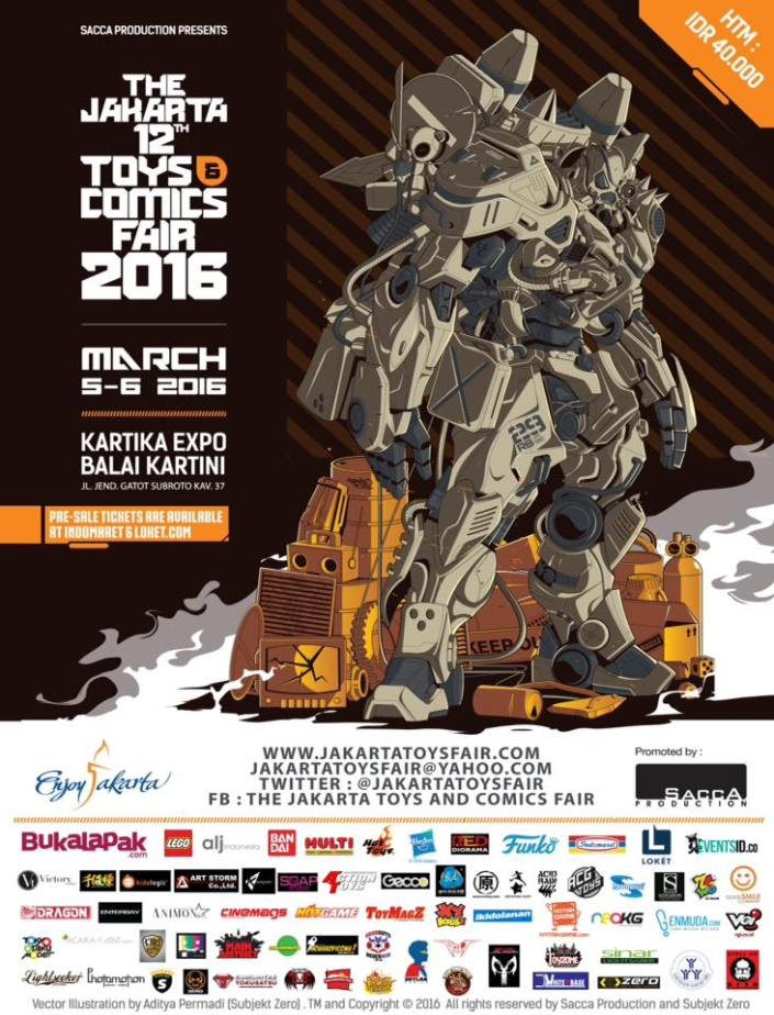 The Jakarta Toys & Comics Fair 2016