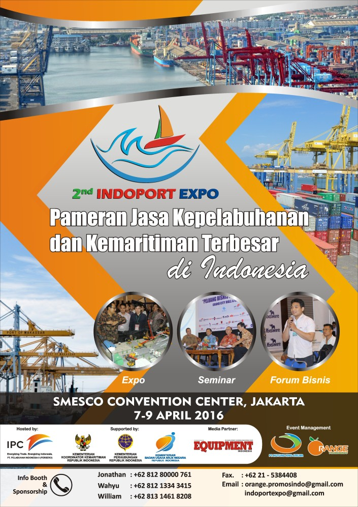 2nd INDOPORT EXPO 2016