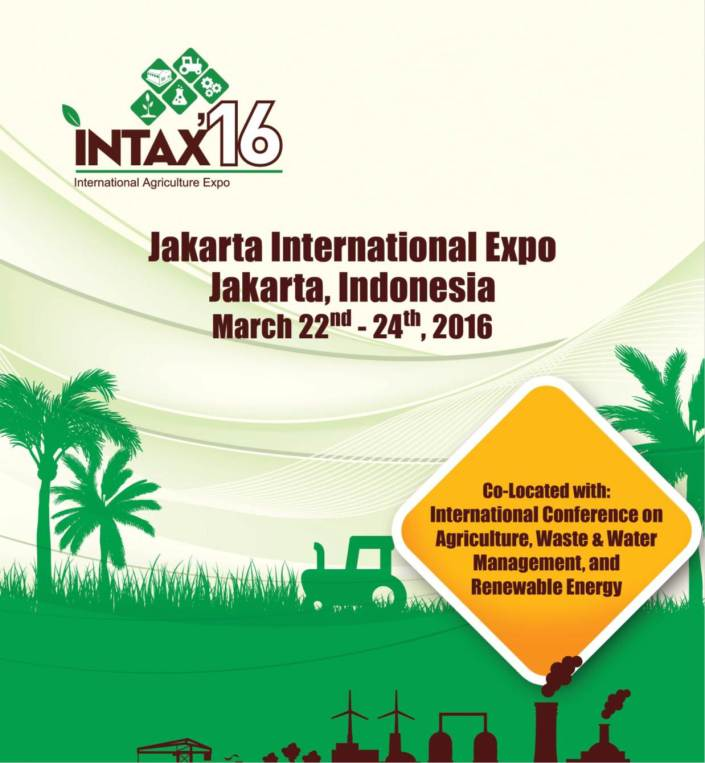 International Agriculture Expo 2016 - INTAX 2016