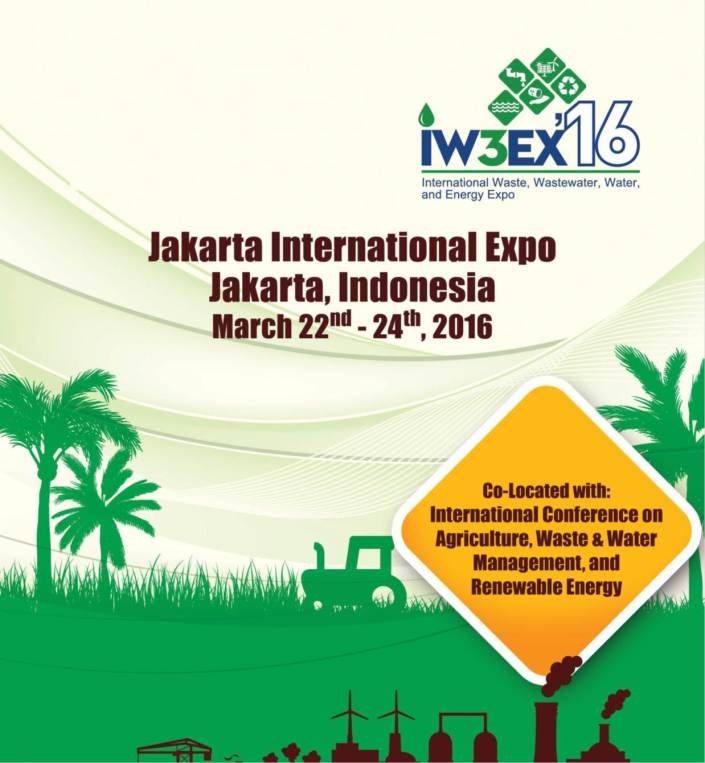 International Waste, Wastewater, Water, and Exnergy Expo - IW3EX 2016