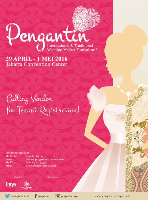 Pengantin International & Traditional Wedding Market Festival 2016