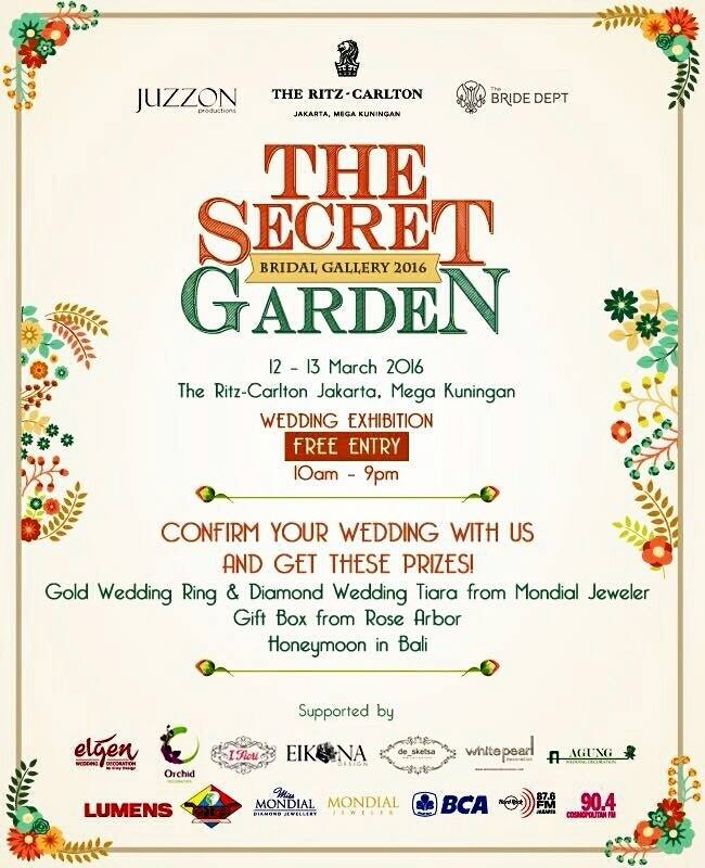 THE SECRET GARDEN -wedding expo 2016
