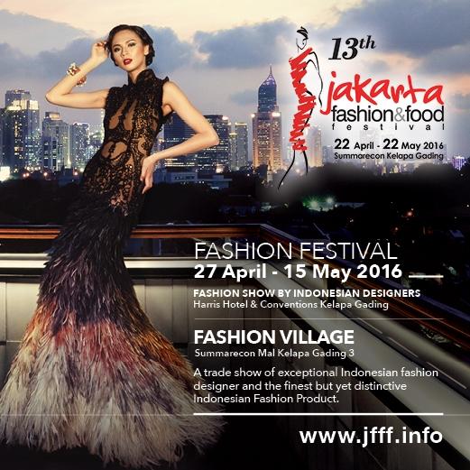 Jakarta Fashion & Food Festival 2016