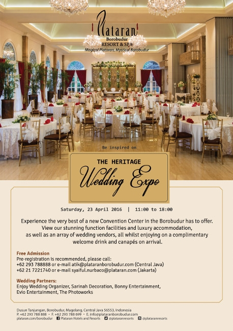 The Heritage Wedding Expo 2016
