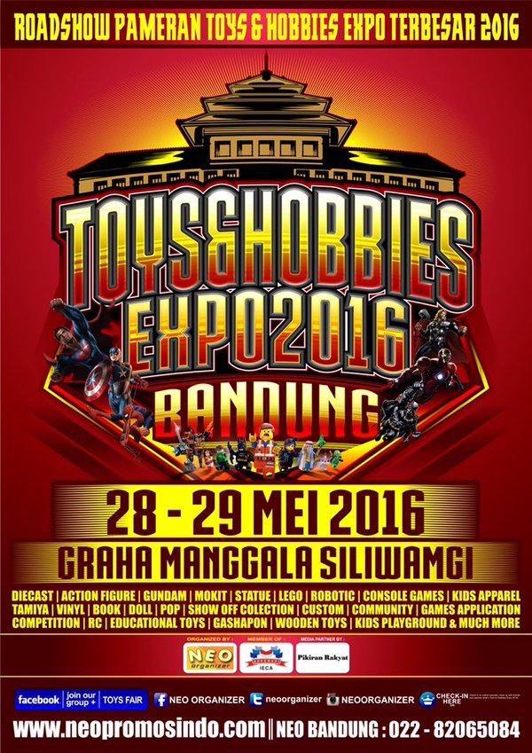 Toys & Hobbies Expo 2016 –  Bandung