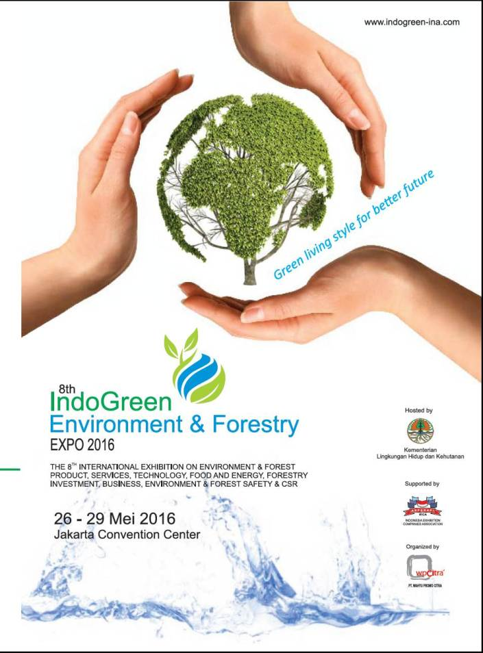8th IndoGreen Environment & Forestry Expo 2016