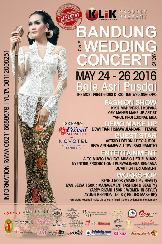 Bandung The Wedding Concert Show 2016
