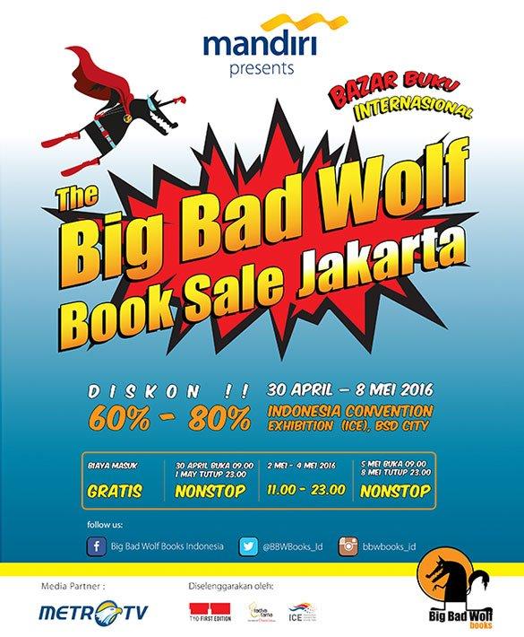 Big Bad Wolf Books 2016 - Jakarta