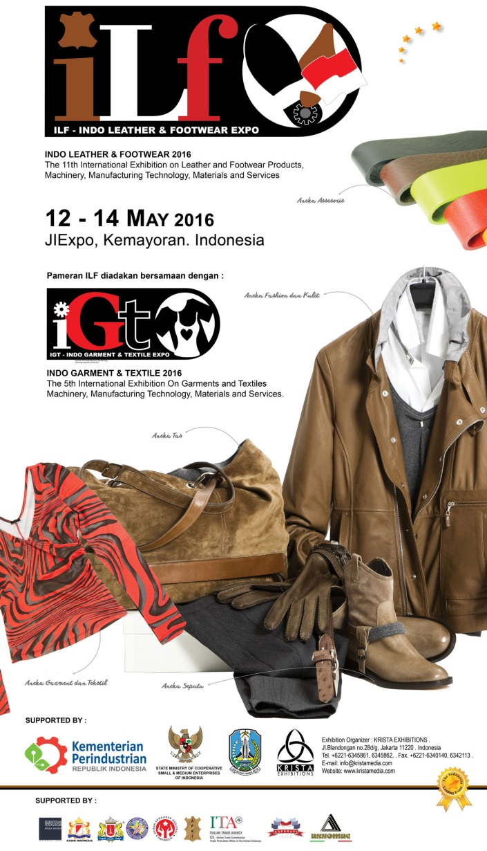ILF - INDO LEATHER & FOOTWEAR 2016