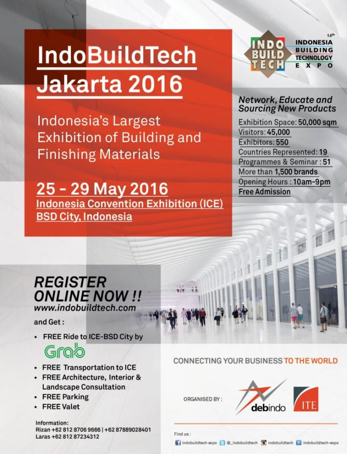 INDOBUILDTECH Jakarta 2016
