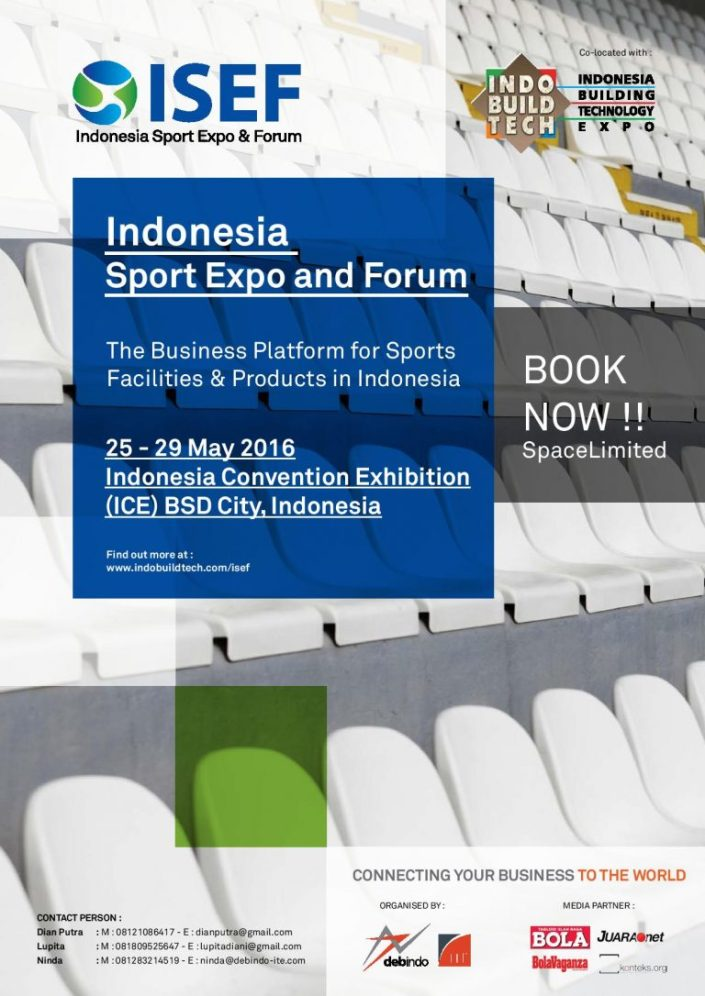 Indonesia Sports Expo and Forum (ISEF) 2016
