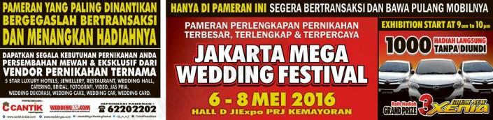 JAKARTA MEGA WEDDING FESTIVAL 2016