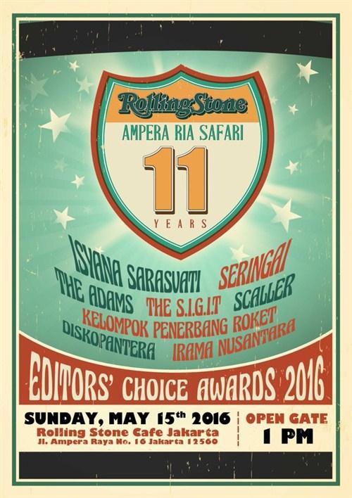 Rolling Stone Ampera Ria Safari INA ke-11