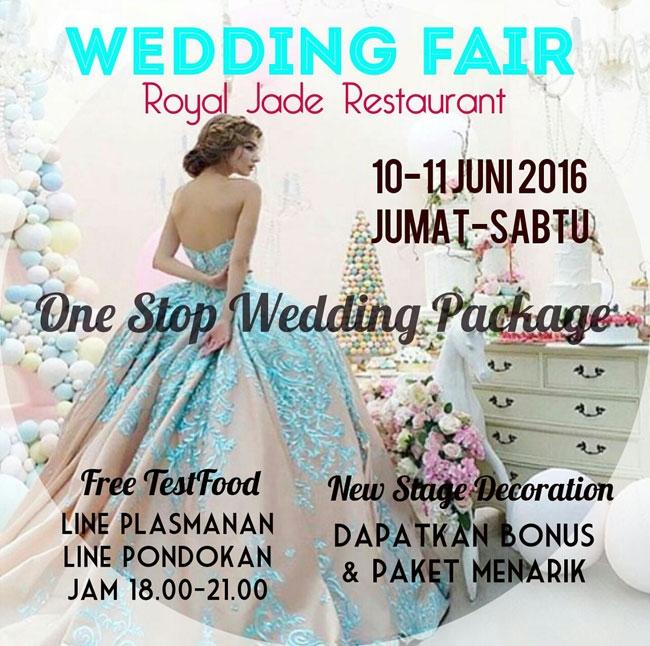 Wedding Fair at Royal Jade Restaurant 2016