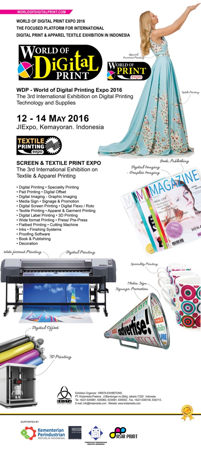 WORLD OF DIGITAL PRINT EXPO 2016