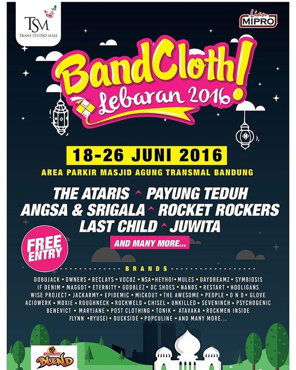 Bandung Clothing EXPO 2016 ( BandCloth 2016)