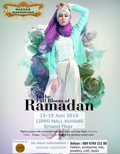 Bazaar In the Full Bloom of Ramadhan Lippo Mall Kemang