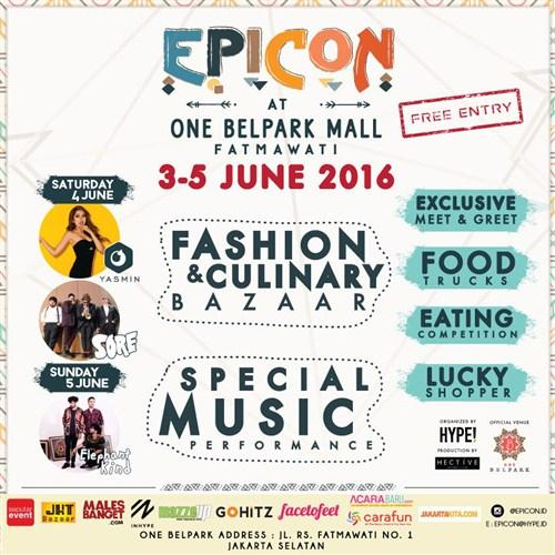 EPICON, Epic Morrocan Night @ One Belpark Mall