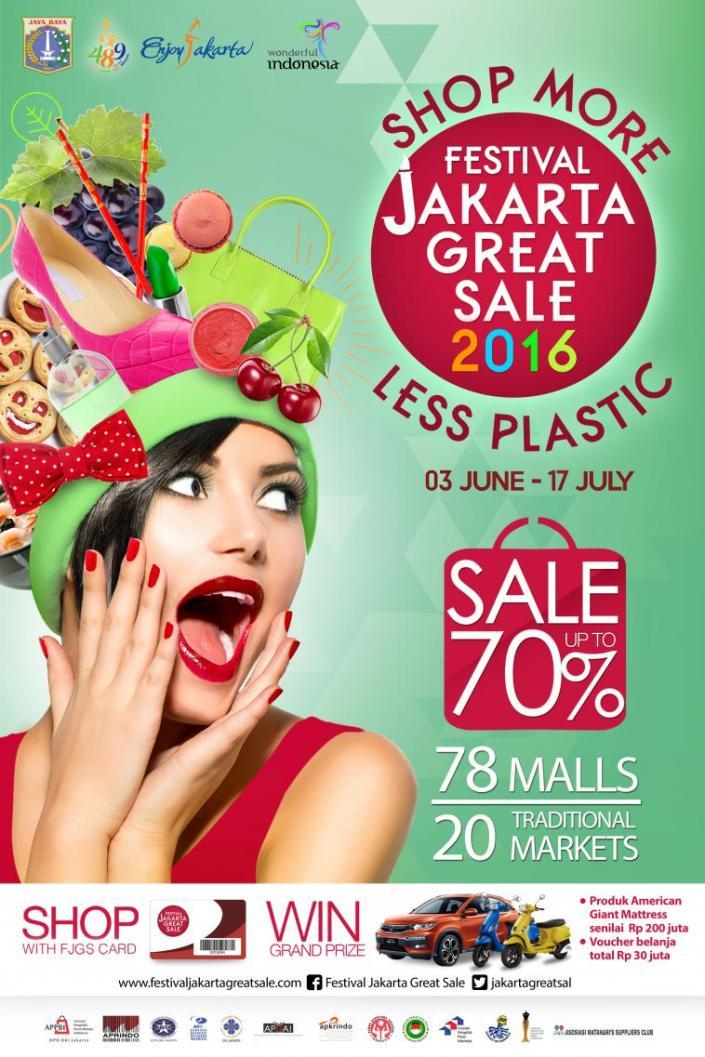 Festival Jakarta Great Sale 2016