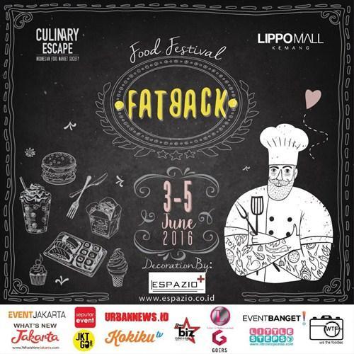 Food Festival Fatback LIppo Mall Kemang