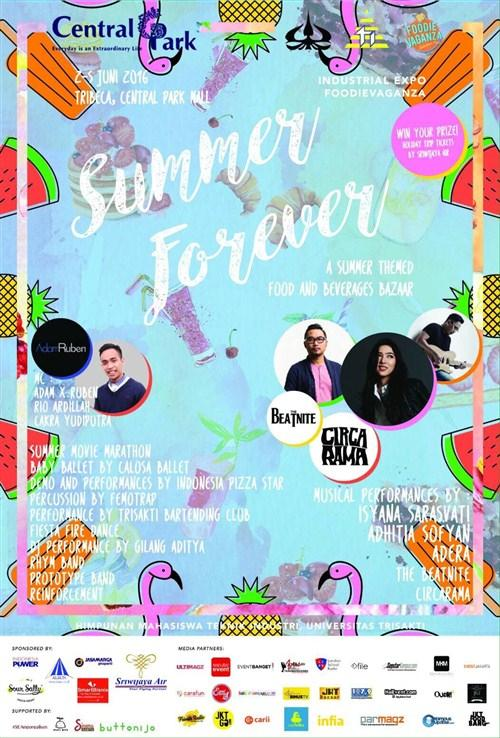 "Industrial Expo Foodievaganza ""Summer Forever"""
