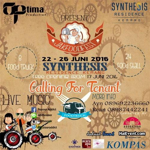 Jakfood Festival Synthesis Kemang 2016