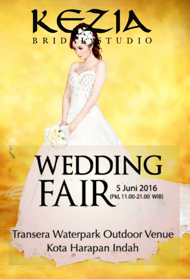 Promo Kezia Bridal at WEDDING FAIR TRANSERA WATERPARK